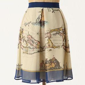 Women S Map Skirt On Poshmark